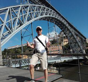 """Unter der """"Ponte Luis"""""""