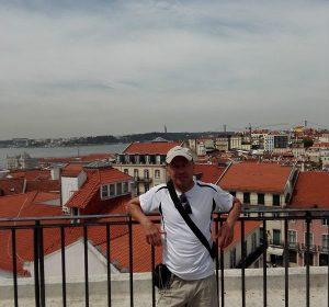 Über der Altstadt von Lissabon