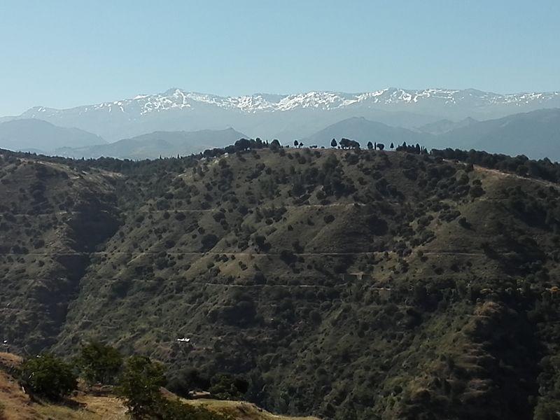 Sierra Nevada bei Granada