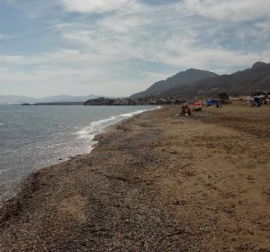 Am Strand von Mazarron