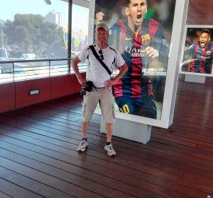 Messi war leider nicht persönlich da