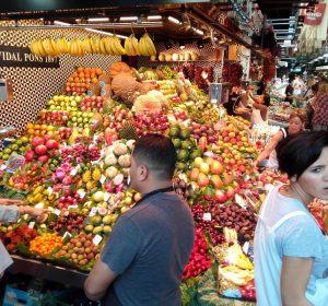Auf dem Markt in Barca