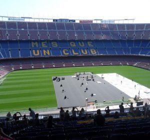 Das Camp Nou fasst 100000 Zuschauer