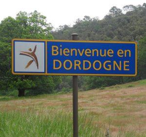 Die Dordogne, Landschaft nördlich von Toulouse