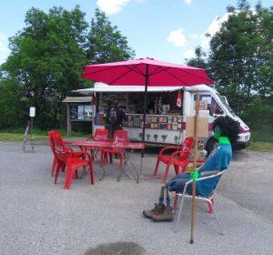 Kiosk am Jakobsweg