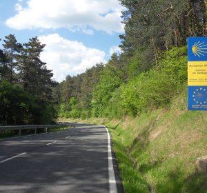 Jakobsweg bei Pamplona