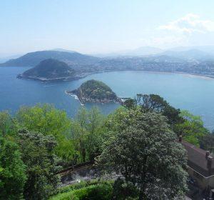 Die Bucht von San Sebastian