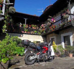 Meine Unterkunft in Santillana Del Mar