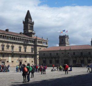 Platz vor der Kathedrale von Santiago