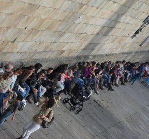 Pilger in Santiago