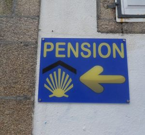 Jakobsweg-Pension in Santiago