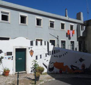 Mein Hostel in Lissabon
