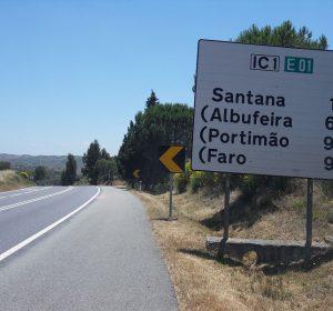 Auf dem Weg nach Faro