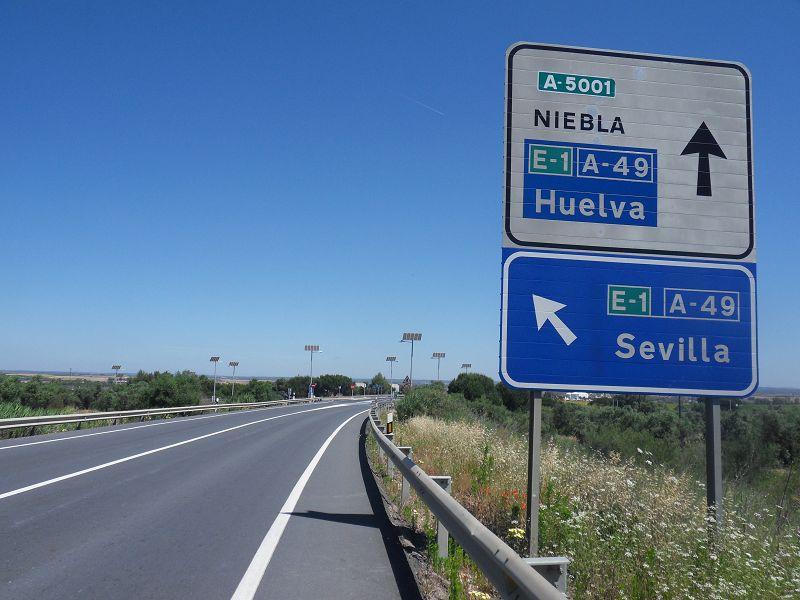 Auf dem Weg nach Sevilla