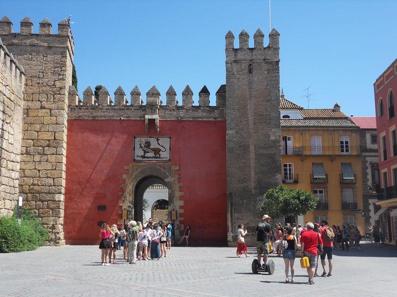 Königspalast Alcázar in Sevilla
