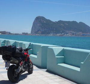 Blick auf Gibraltar