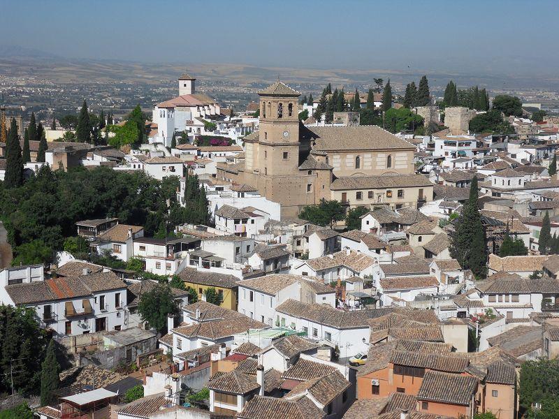 Die weißen Häuser Andalusiens