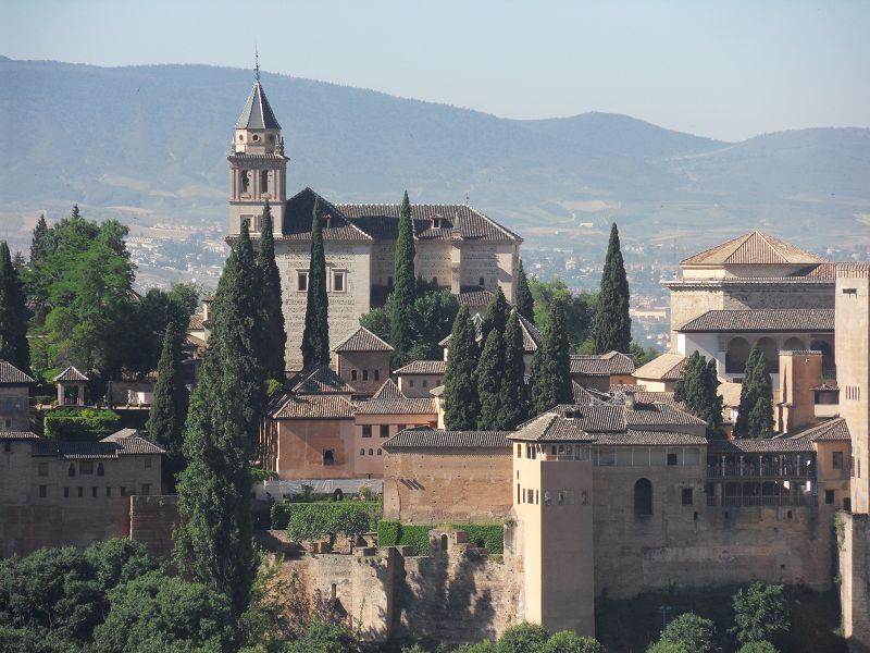 Maurische Festung Alhambra in Granada