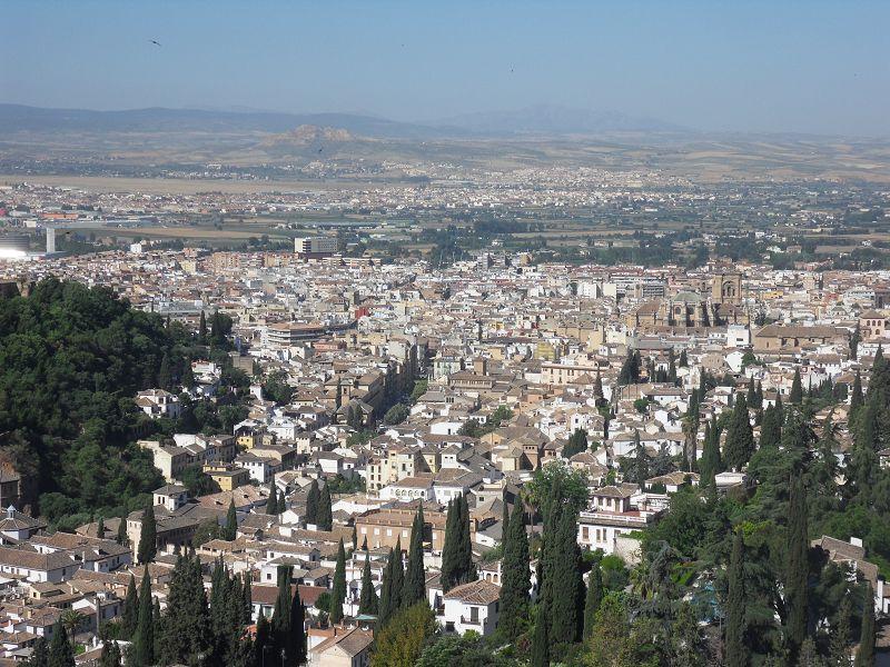 Blick auf Granada