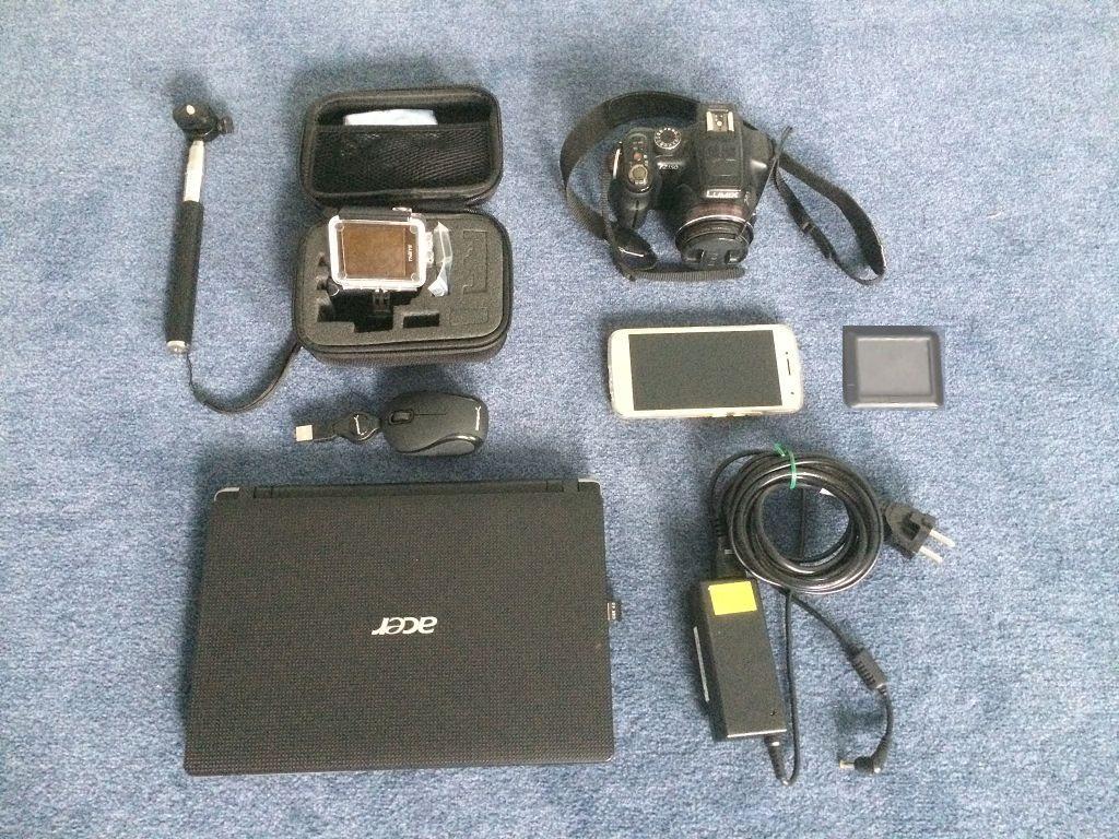 Ausrüstung Foto / Computer / Handy / GPS