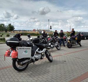 Polnische Biker getroffen