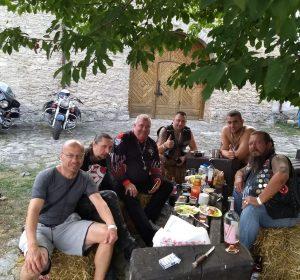 Mit Goose, Elephant, Lion und Piotr