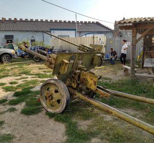 Die Kanonen stammen sicher nicht aus dem Mittelalter