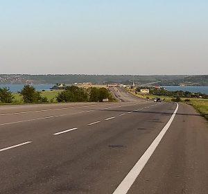 Anfahrt auf Odessa