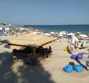 Wetter heiß, Wasser kalt am Schwarzen Meer