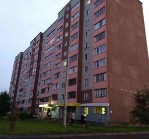 Das Hostel Uyt in Kursk in einem Plattenbau