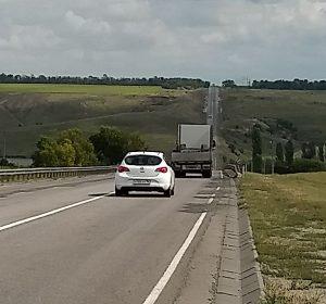 Gute Hauptstraßen in Russland aber weite Entfernungen