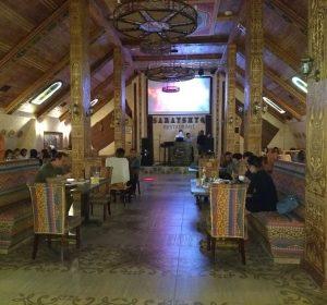 Im Nobelrestaurant mit dem Schweizer Beni