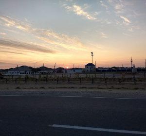 Aufbruch im Morgengrauen