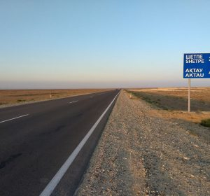 Fast 500 km bis Aktau