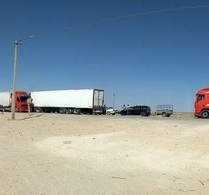Grenze von Usbekistan