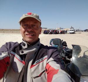 Nach der Grenze von Usbekistan