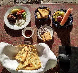 Tolles Frühstück im Lali-Opa
