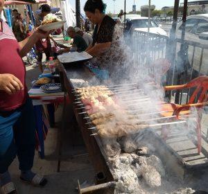 Die Usbeken essen viel Fleisch