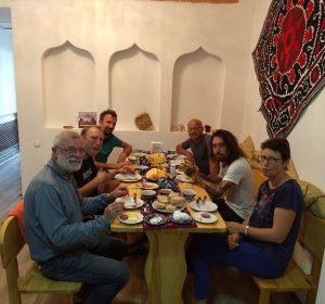 Frühstück im Amir Hostel