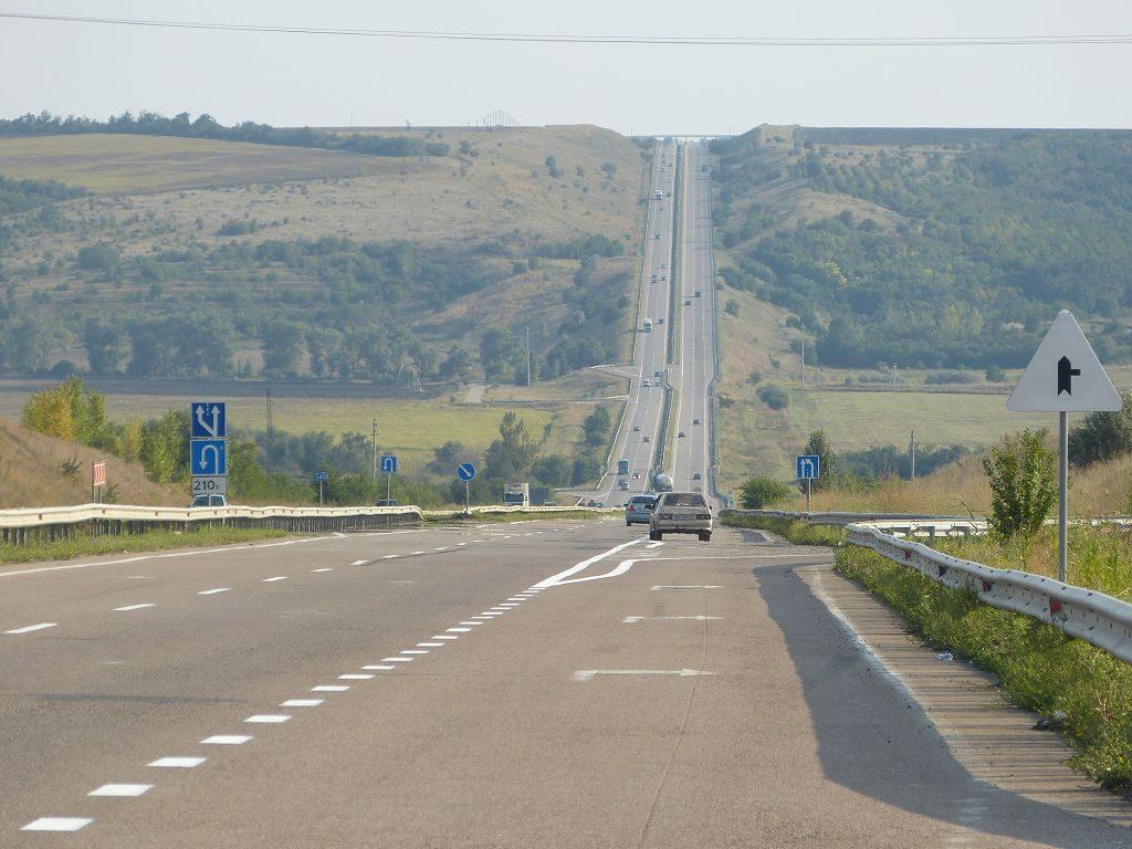 Gefahrene Route