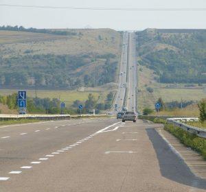 Einzig vernünftige Straße der Ukraine - die Autobahn nach Odessa