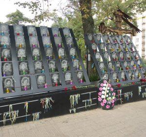Mahnmal des Aufstandes 2013/2014 am Maidan