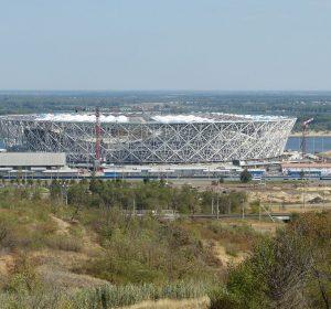 Neues Stadion für die WM 2018