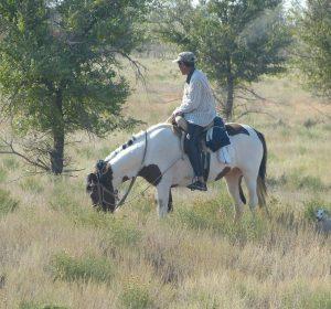 Wusste gar nicht daß es in Russland auch Cowboys gibt
