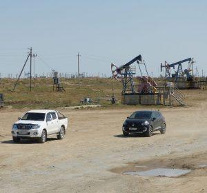 Ölfelder sieht man viele