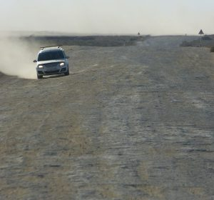 Katastrophale Straßen - arme BMW
