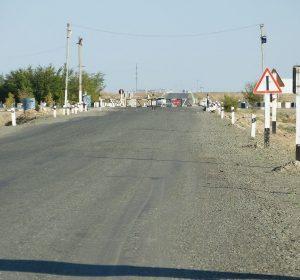 Checkpoint vor Jasliq