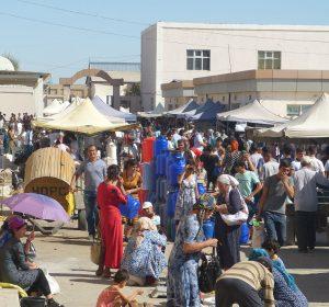 Sonntags-Bazaar in Xiva