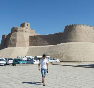 Stadtmauern der Altstadt Xiva's