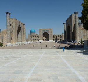 Der Registan - UNESCO Weltkulturerbe